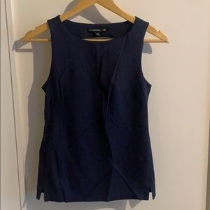 Banana Republic Madmen blue tank top
